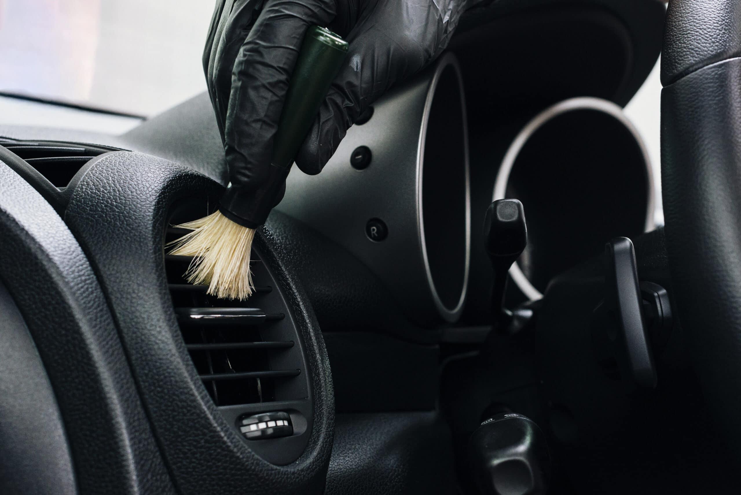 O processo de higienização do carro adotado pela Acquazero